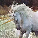 white Unicorn image